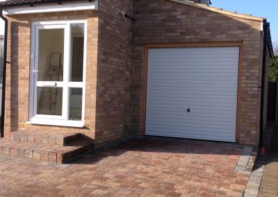 11 Porch, garage & block paving - St Peters Road