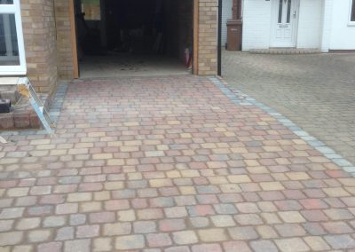 22 Block paving - St Peters Road